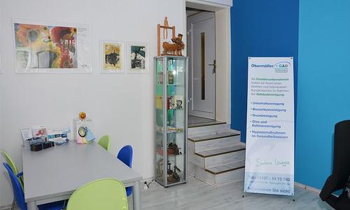 Innenansicht - Büro